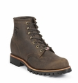 "Chippewa 6"" Chocolate Lace Up Work Boot 20080"