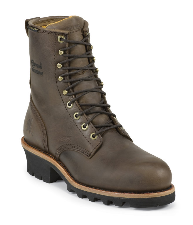 Chippewa 8 Inch Steel Toe Womens Logger Waterproof
