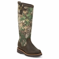 Chippewa Women's Tan Apache Realtree Camo 15 Inch Snake Boot L25118