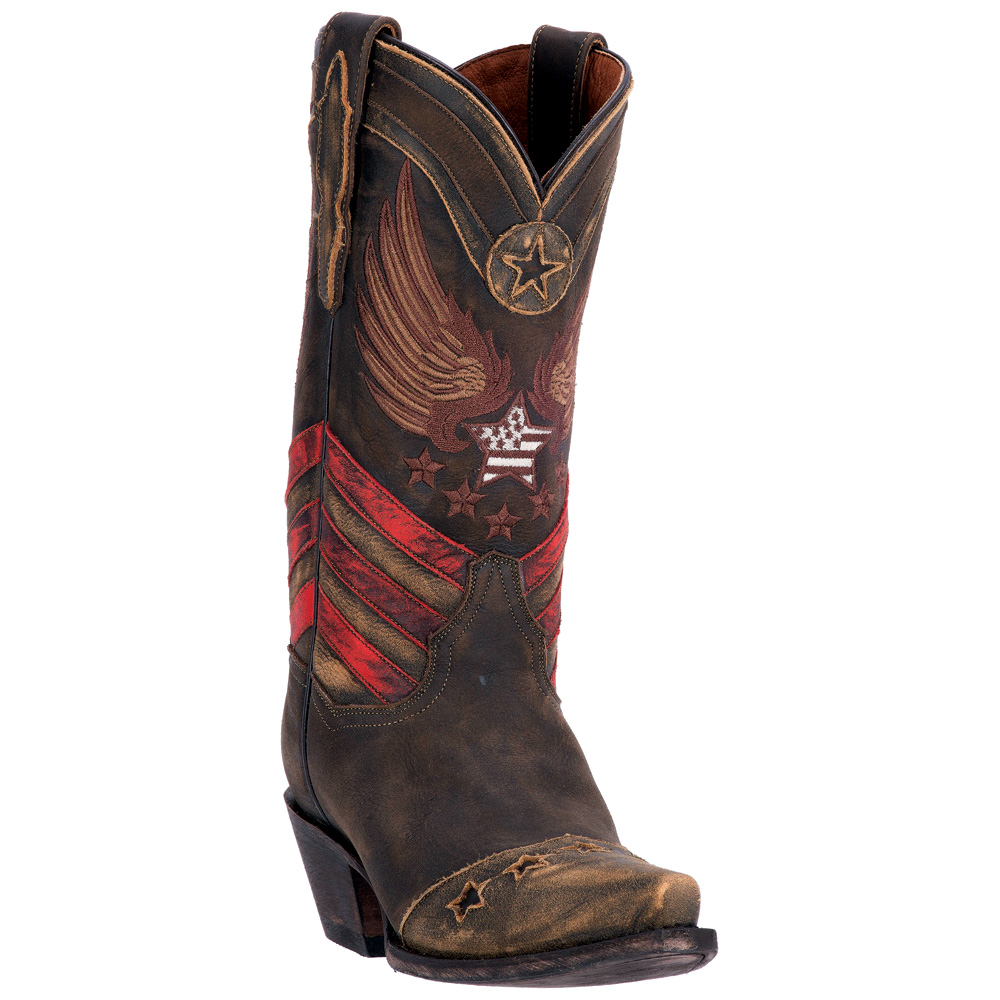Beautiful Women39s Cowboy Boots By Dan Post In Brown Leather With By ShopNDG