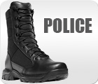 Police Boots | Black Tactical Duty Boots – WorkBootsUSA