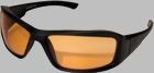 Edge Eyewear Hamel - Black / Tigers Eye Lens XH610