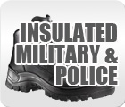 Insulated Military and Police Boots