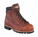 "Iron Age 6"" Lace to Toe Work Boot Brown IA0104"
