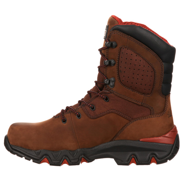 Bigfoot 8 Inch Steel Toe Waterproof Slip Resitant Work Boot RKYK065