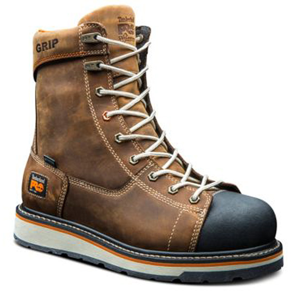 PRO Gridworks 8 Inch Waterproof Work Boot A16T4