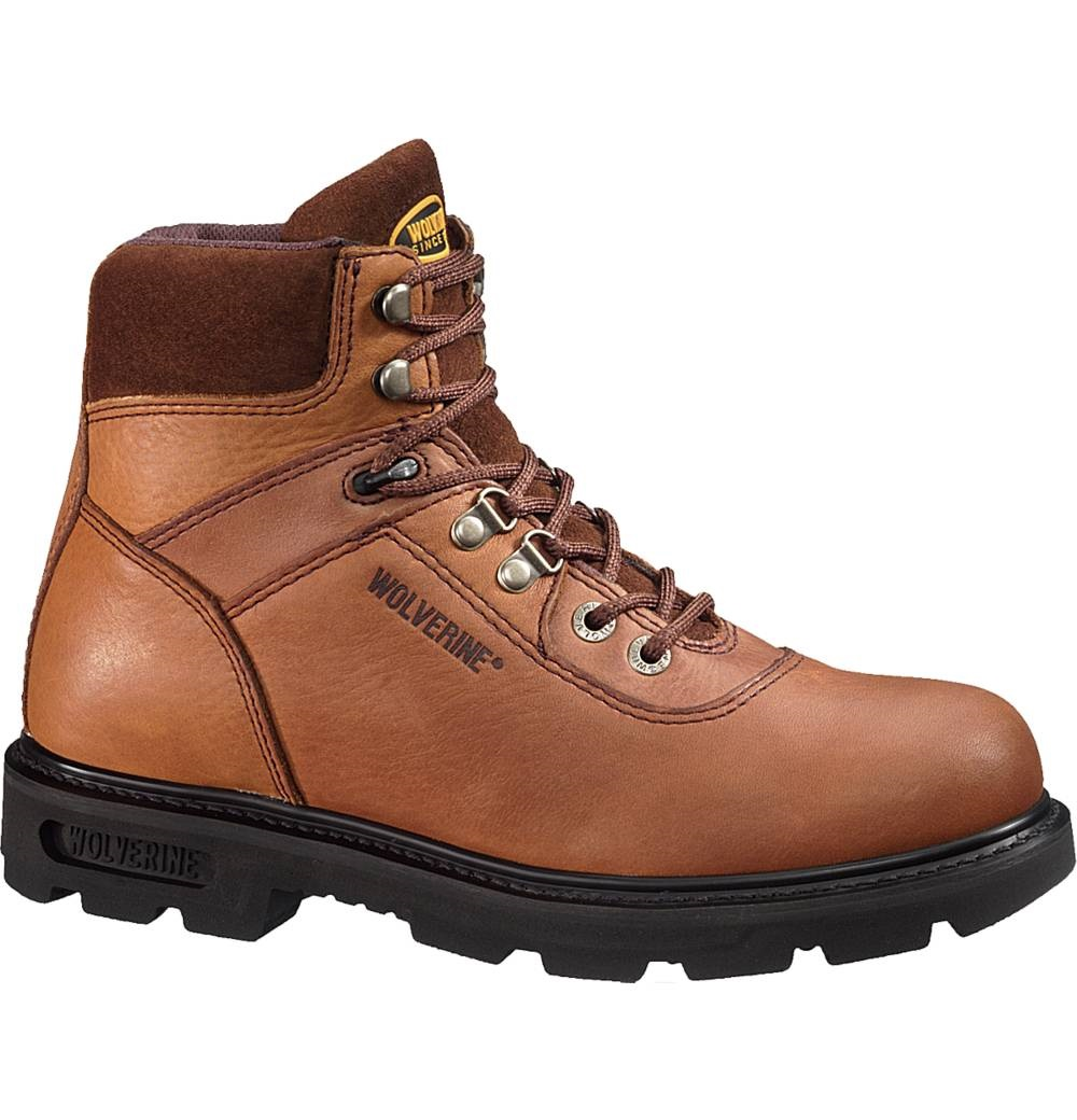 wolverine traditional 6 inch work boot w04213