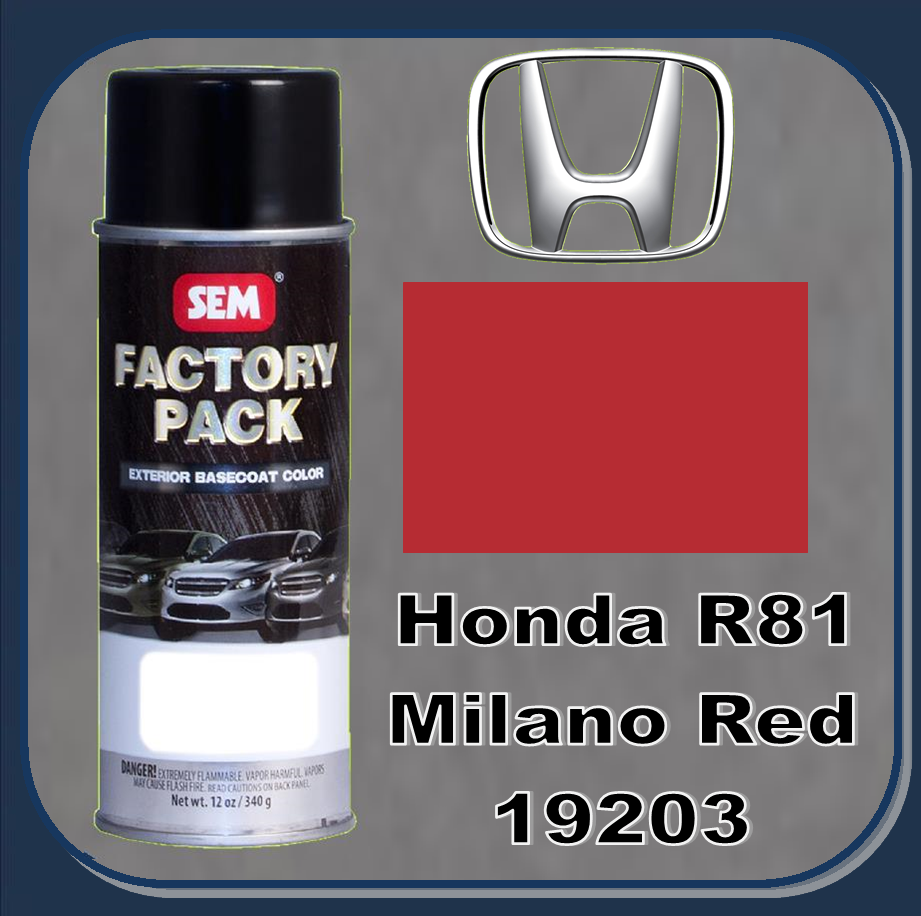 Ep Milano Red Paint Code