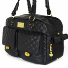 Alexander Black Dog Carrier Bag