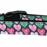 Anchor Hearts Dog Collars & Leashes