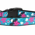 Aqua Love Dog Collars & Leashes