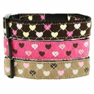 Argyle Hearts Cat & Dog Collars & Leashes