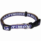 Baltimore Ravens Dog Collars & Leashes