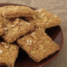 Banana Crunch Squares Dog Treats