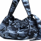 Blue Camo Sling Dog Carrier