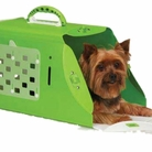 Bright Green Pet Crate Carrier