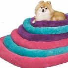 Bright Terry Crate Dog Bed