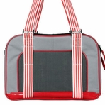 Candy Cane Pet Carrier