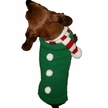Candy Cane Scarf Dog Sweater
