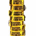 Caution Dog Collars & Leashes