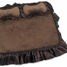 Chocolate Brown Dog Bed
