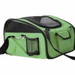 Collapsible Pet Car Seat Carrier / Convertible Dog Carrier - Green