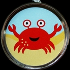 Crab Pet ID Tag