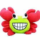 Crabby Little Dog Red Dog Toy