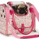 Dog Is Good Dogism Pink Pet Carrier