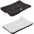 Eco-Paw Reversible Eco-Friendly Pet Bed - Black/White