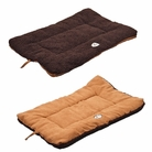 Eco-Paw Reversible Eco-Friendly Pet Bed - Brown/Cocoa