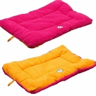 Eco-Paw Reversible Eco-Friendly Pet Bed - Orange/Pink
