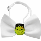 Frankenstein Chipper Halloween Dog Bow Tie