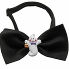 Ghost Chipper Halloween Dog Bow Tie