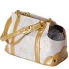 Gold Rococo Dog Carrier