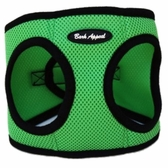 Green Mesh EZ Wrap Non-Choking Dog Harness by Bark Appeal