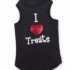 I Heart Treats Dog Tank