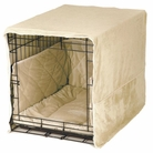 Ivory Plush Luxury Cratewear Dog Bedding Set