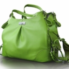Jarad�n - SoHo Collection Dog Carrier - Lime Green