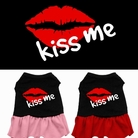 """Kiss Me"" Dog Dress"