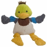 Knotties Duck Dog Toy by Hugglehounds