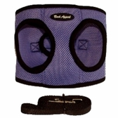 Lavender Mesh EZ Wrap Non-Choking Dog Harness by Bark Appeal