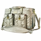 Le Petit Mon Ami Pet Carrier by Jaraden - Metallic