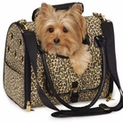 Leopard Dog Carrier by M. Isaac Mizrahi