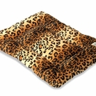 Leopard Plush Luxury Crate Mat Pet Bed
