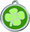 Lucky Clover * Dog ID Tag