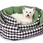 M. Isaac Mizrahi� Gingham Collection Nesting Dog Bed