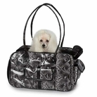 Metallic Python Dog Carrier