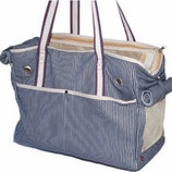 Nautical Tote Dog Carrier