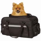On-The-Go Carry-On Bag Black Dog Carrier